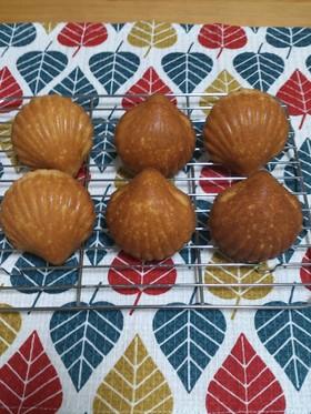 【甜菜糖シリーズ】ハチミツのマドレーヌ☆