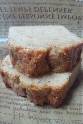 イチゴパウンドケーキ
