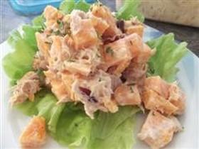 スウィートポテトのサラダ