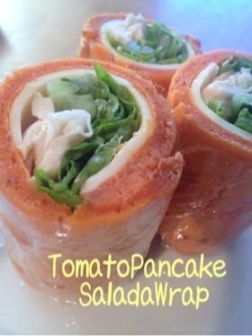 トマトパンケーキ・シーザーサラダロール