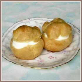卵1個で♪ヨーグルト・シュークリーム