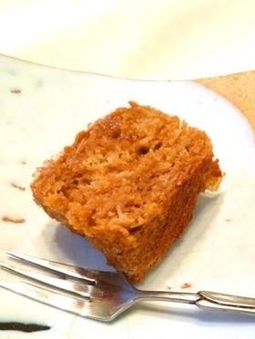 バター・卵フリー!味噌ジンジャーケーキ