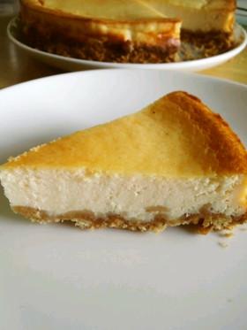 豆腐とヨーグルトのベイクドチーズケーキ