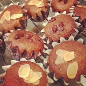 【マクロビ】シンプルなカップケーキ