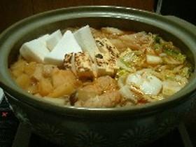 なんちゃって韓国風鍋