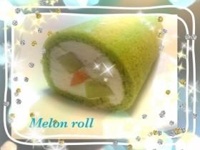 メロン&メロンロールケーキ