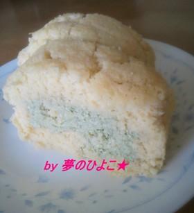 抹茶豆腐クリームのおからロールケーキ
