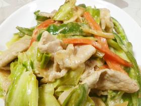 野菜炒め(マヨみそ味)