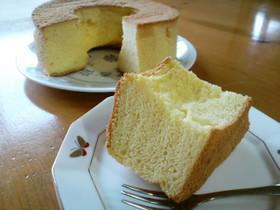 ふわふわ♪豆乳シフォンケーキ