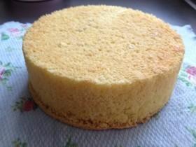 Nonバターふっくらスポンジケーキ