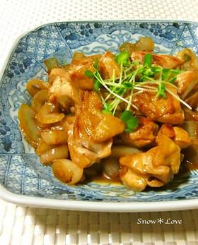 今夜のおかずは☆鶏肉と玉ねぎの甘辛焼き