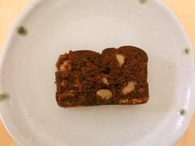 いちじくとクランベリーのチョコケーキ*