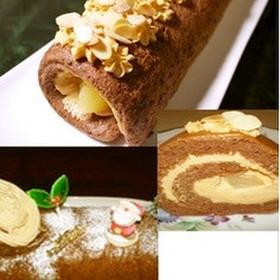 絶品♪ キャラメルクリーム☆ロールケーキ