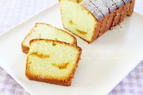 杏ジャム入り☆ピスタチオパウンドケーキ