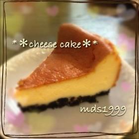 父の日にも◎簡単絶品チーズケーキ☆