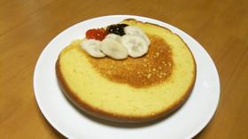 ふわっふわ♪スポンジ風パンケーキ