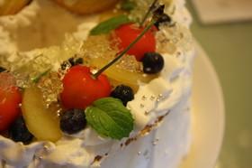 お誕生日ケーキ(夏)