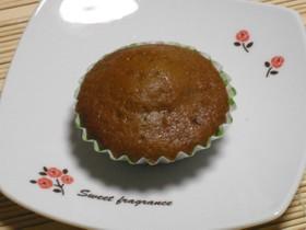 混ぜて焼くだけ♪米粉入り黒糖カップケーキ