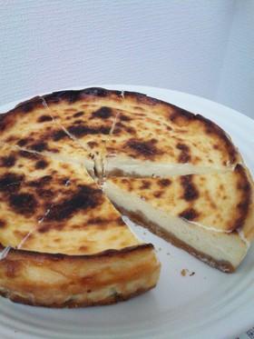 トースターで焼けた♪ベイクドチーズケーキ