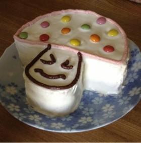 簡単♪ デコレーションケーキ 〜きのこ〜