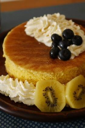フライパンでしゅわふわスフレパンケーキ