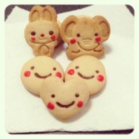 ほんのり香るミルクティー型抜きクッキー♡