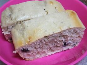 ブルーベリージャムでパウンドケーキ