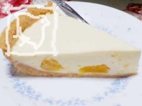 夏みかん入りレアチーズケーキ