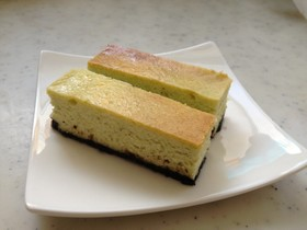 枝豆たっぷり!チーズケーキ