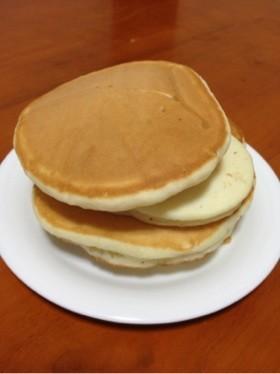 卵不使用☆もっちりホットケーキ