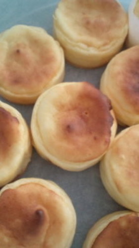 キャラメルりんごのチーズタルト