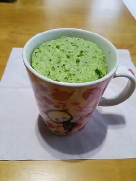 簡単☆抹茶カップケーキ