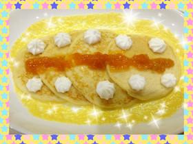 hmで作るしっとり☆パンケーキ