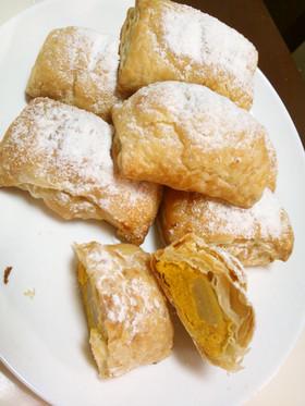 金色の芋・栗・かぼちゃのパイ