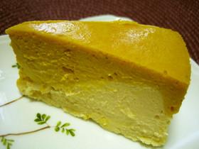 かぼちゃのお洒落なチーズケーキ