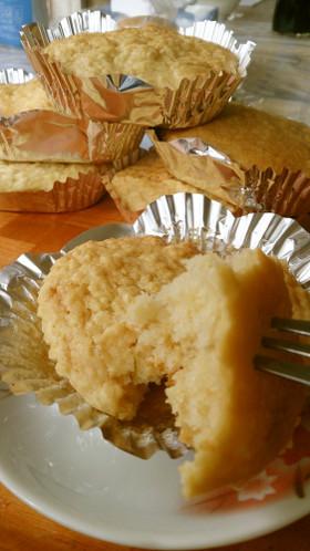 材料4つ♡HMで簡単りんごカップケーキ