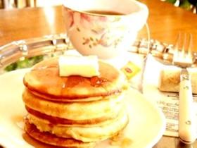今話題のパンケーキ★HMで簡単お店の味!