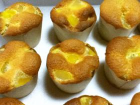 栗のカップケーキ~油脂・BP不使用~
