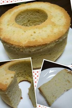 米粉で作る!マロンシフォンケーキ