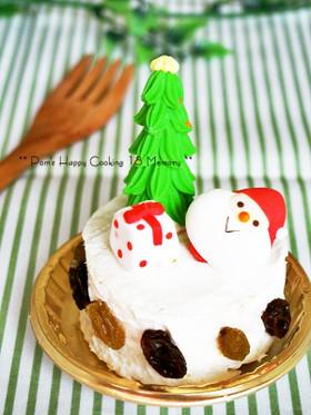 食パンで作る♪クリスマスパンケーキ