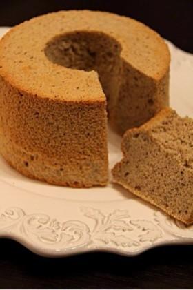 黒糖きなこde和のシフォンケーキ