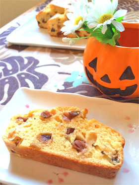 HM☆プルーンのフルーツブランデーケーキ