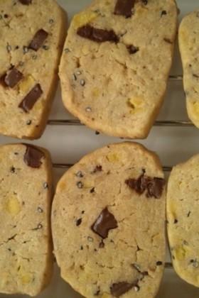 バターなしスイートポテトサクサククッキー