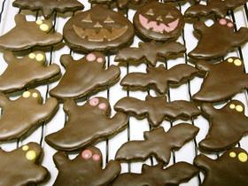ハロウィンクッキー(ブラックココア使用)