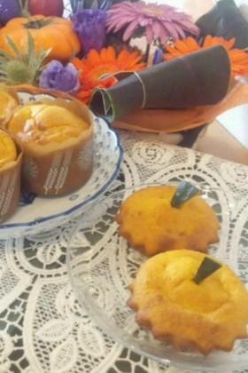 簡単☆かぼちゃのカップケーキ♪
