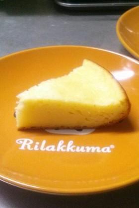 炊飯器でチーズケーキ 覚書