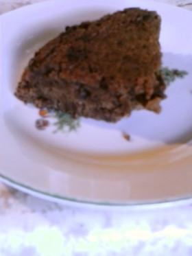 炊飯器キャラメルアーモンドチョコケーキ