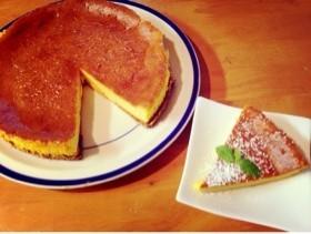 パンプキンチーズケーキ*