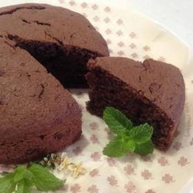 お気に入りパン屋さんのチョコケーキ♡