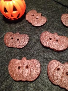 ハロウィンのお菓子★カボチャ型クッキー